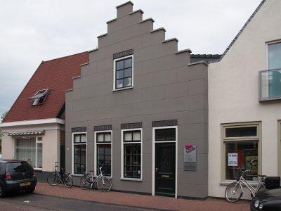 Egelstilstraat pand trapgevel