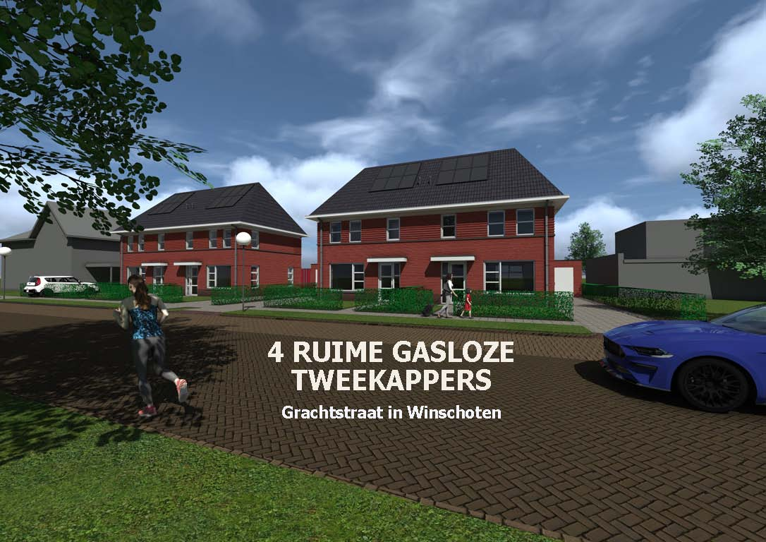 Grachtstraat in Winschoten